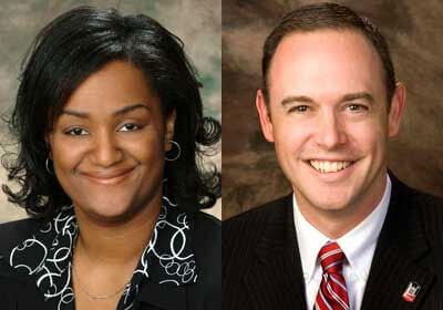 Michelle Pickett and Matt Streb