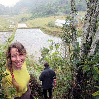 NIU student Rebekah Ernat visited Madagascar.
