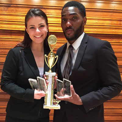 Kristen Stoicescu and Alonte Holliday