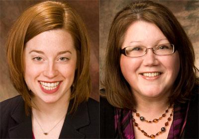 Jill Zambito and Patti Gingrich