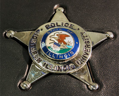 NIU Police badge