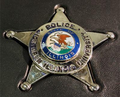 NIU Police badge
