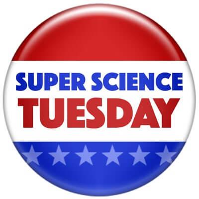 Super Science Tuesday logo