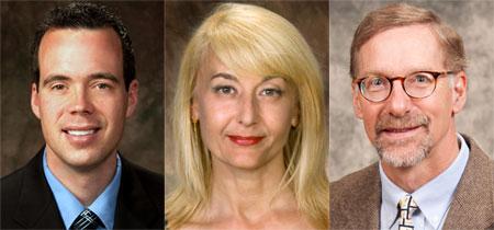 Todd Gilson, Andrea Molnar and Joel Stafstrom