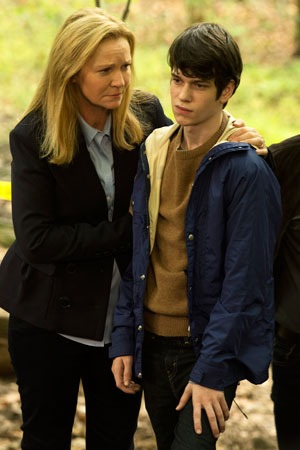 "Joan Allen and Liam James star in The Family."" (Photo used with permission)"