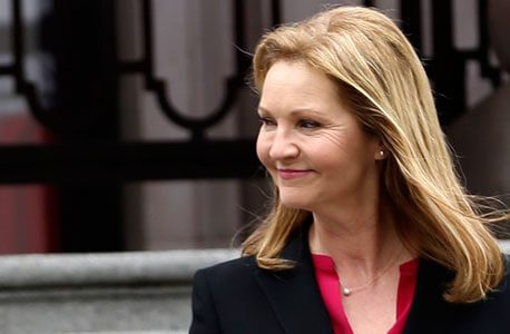 "Joan Allen, NIU alumna and star of ABC's ""The Family.""(Photo used with permission)"