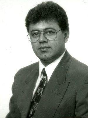 Promod Vohra in 1995.