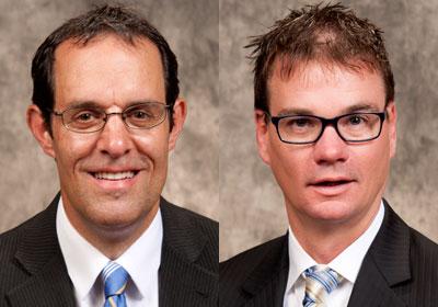 Andrew Digate and Daniel Koenen