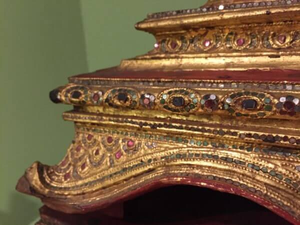 Manuscript chest detail