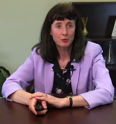 Judith Lukaszuk conducts a webinar on her research.