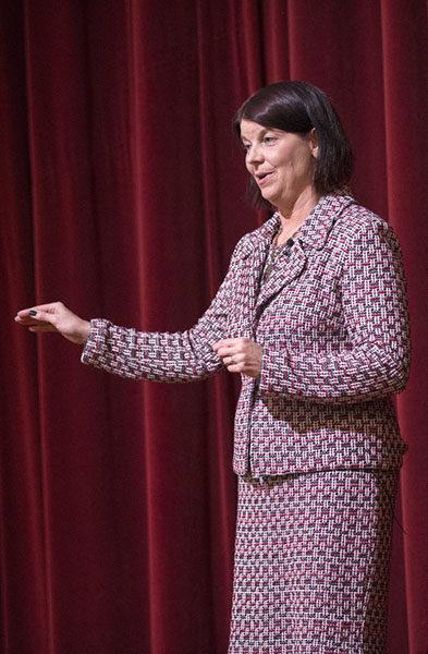 Acting President Lisa Freeman