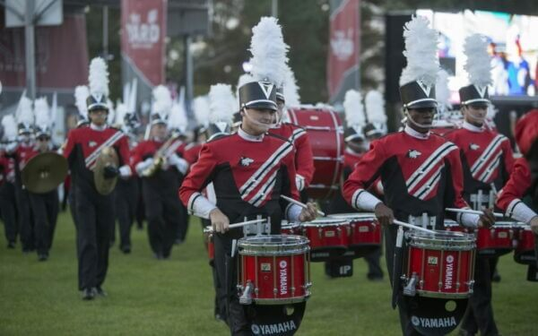 The secrets behind the biggest Huskie Marching Band in years